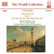 Vivaldi: Cello Concertos, Vol.  3 - CD