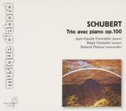 Jean-Claude Pennetier, Régis Pasquier, Roland Pidoux: Schubert: Trio in Es-Dur für Klavier, Violine und Violoncello Nr. 2, D 929 (op. 100) - CD