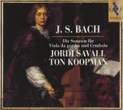 Jordi Savall, Ton Koopman: J. S. Bach: Die Sonaten für Viola da gamba und Cembalo - CD