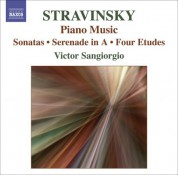 Victor Sangiorgio: Stravinsky: Music for Piano Solo - CD