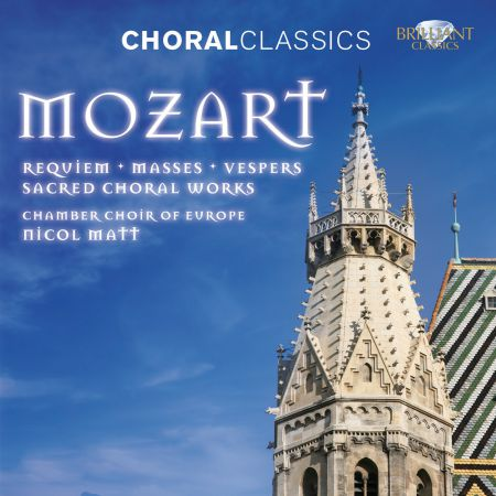 Chamber Choir of Europe, Nicol Matt: Mozart: Sacred Choral Works - CD
