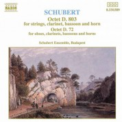 Schubert: Octets, D. 803 and D. 72 - CD