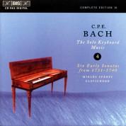 Miklós Spányi: C.P.E. Bach: Solo Keyboard Music, Vol. 4 - CD