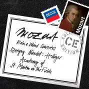 Academy of St. Martin in the Fields, Heinz Holliger, Sir Neville Marriner, Aurèle Nicolet, Henryk Szeryng: Mozart: Violin & Wind Concertos - CD
