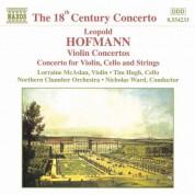 Hofmann: Violin Concertos - CD