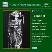 Puccini: Turandot (Cigna, Merli, Olivero) (1938) - CD