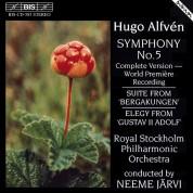 Royal Stockholm Philharmonic Orchestra, Neeme Järvi: Alfvén: Symphony No.5 - CD