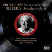 Serge Koussevitzky: Prokofiev: Peter and the Wolf / Sibelius: Symphony No. 2 (Koussevitzky) (1950) - CD