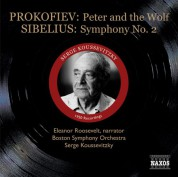 Serge Koussevitzky: Prokofiev: Peter and the Wolf / Sibelius: Symphony No. 2 (Koussevitzky) (1950) - CD