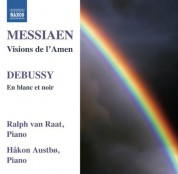 Hakon Austbo, Ralph van Raat: Messiaen - Debussy: Music for 2 Pianos - CD