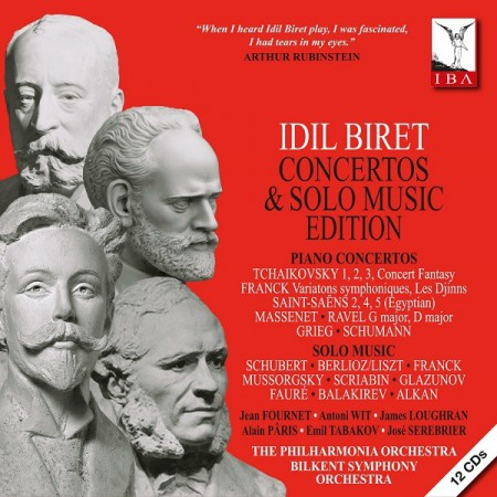 İdil Biret: Concertos & Solo Music Edition - CD
