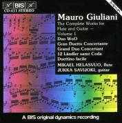 Mikael Helasvuo, Jukka Savijoki: Giuliani: Complete Works for Flute and Guitar, Vol.1 - CD
