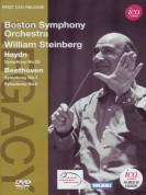 Boston Symphony Orchestra, William Steinberg: Haydn/ Beethoven: Sym. No.55, Sym. Nos.7-8 - DVD