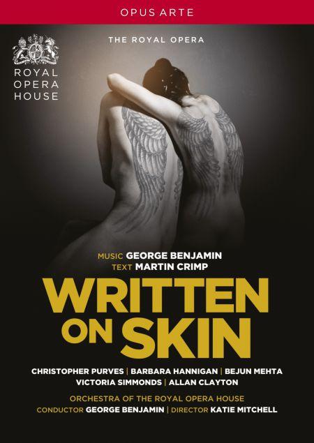 Benjamin: Written on Skin - DVD