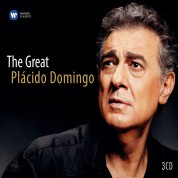 Plácido Domingo: The Great Plácido Domingo - CD