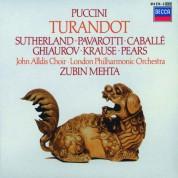 Dame Joan Sutherland, John Alldis Choir, London Philharmonic Orchestra, Luciano Pavarotti, Montserrat Caballé, Nicolai Ghiaurov, Zubin Mehta: Puccini: Turandot - CD