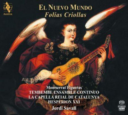 Montserrat Figueras, Jordi Savall: El Nuevo Mundo - Folias Criollas - SACD