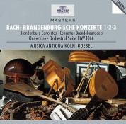 Musica Antiqua Köln, Reinhard Goebel: Bach, J.S.: Brandenburg Concertos Nos. 1 - 3 - CD