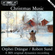 Orphei Drängar, Robert Sund: Christmas Music with Orphei Drängar male choir - CD