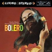 Charles Munch, Boston Symphony Orchestra: Ravel: Bolero (200 g.) - Plak