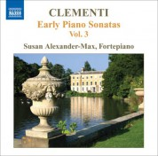 Susan Alexander-Max: Clementi: Early Piano Sonatas, Vol. 3 - CD
