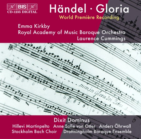 Laurence Cummings, Emma Kirkby, Royal Academy of Music Baroque Orchestra: Handel - Gloria - CD