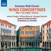 Giuseppe Ciabocchi, William Moriconi, Andrea Tenaglia: Wolf-Ferrari: Wind Concertinos - CD