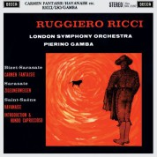 Ruggiero Ricci, London Symphony Orchestra, Pierino Gamba: Bizet: Carmen Fantaisie / Sarasate: Zigeunerweisen / a.o. - Plak