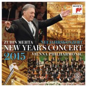 Zubin Mehta, Wiener Philharmoniker: 2015 New Year's Concert - CD