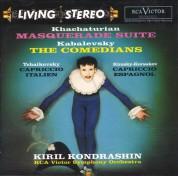 RCA Victor Symphony Orchestra, Kirill Kondrashin: Khachaturian: The Masquerade Suite/ Kabalevsky: The Comedians (200g-edition) - Plak