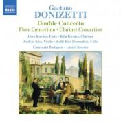 Donizetti: Double Concerto / Flute Concertino / Clarinet Concertino - CD