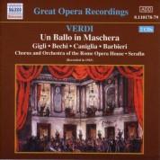 Verdi: Ballo in Maschera (Un) (Gigli, Caniglia) (1943) - CD