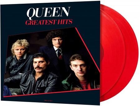 Queen: Greatest Hits (Remastered - Red Vinyl) - Plak
