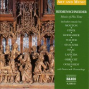 Çeşitli Sanatçılar: Art & Music: Riemenschneider - Music of His Time - CD