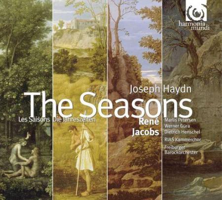 RIAS Kammerchor, Freiburger Barockorchester, René Jacobs: Joseph Haydn: The Seasons - CD
