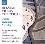 Sergey Ostrovsky: Russian Violin Concertos - CD