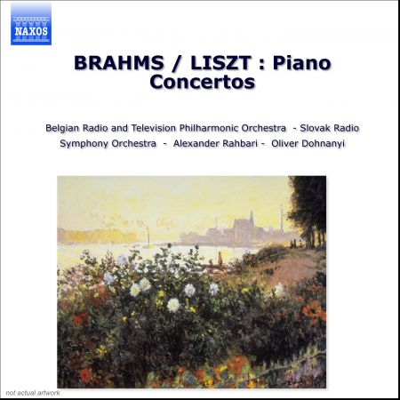 Brahms / Liszt: Piano Concertos - CD