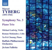 JoAnn Falletta: Tyberg: Symphony No. 3 - Piano Trio - CD
