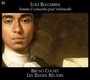 Bruno Cocset, Les Basses Reunies: Boccherini: Sonates & Concertos Pour Cello - CD