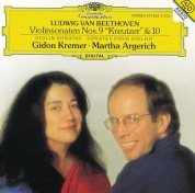 Gidon Kremer, Martha Argerich: Beethoven: Violin Sonatas 9 + 10 - CD