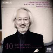 Bach Collegium Japan, Masaaki Suzuki: J.S. Bach: Cantatas, Vol. 40 - SACD