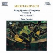 Shostakovich: String Quartets Nos. 4, 6 and 7 - CD