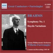 Wilhelm Furtwängler: Brahms: Symphony No. 1 / Haydn Variations - CD