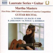 Guitar Recital:  Martha Masters - CD
