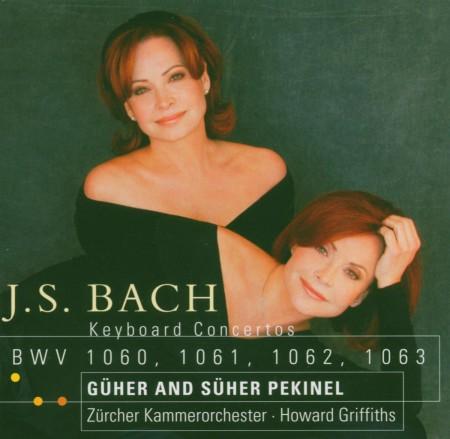 Güher & Süher Pekinel: Bach: Keyboard Concertos BWV 1060-1063 - CD