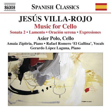 Asier Polo: Villa-Rojo: Music for Cello - CD
