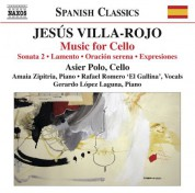 Asier Polo: Villa-Rojo: Music for Cello - CD