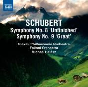 Michael Halász: Schubert: Symphonies Nos. 8 & 9 - CD