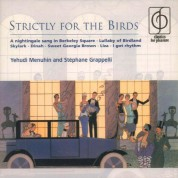 Yehudi Menuhin, Stéphane Grappelli: Strictly for the Birds - CD