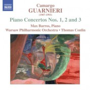 Max Barros: Guarnieri, M.C.: Piano Concertos Nos. 1-3 - CD